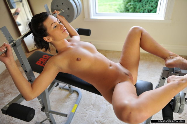 Work out girls nude